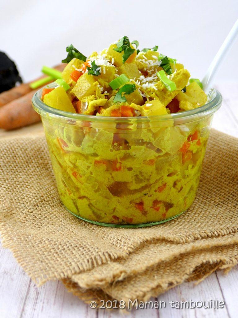 Curry de radis noir
