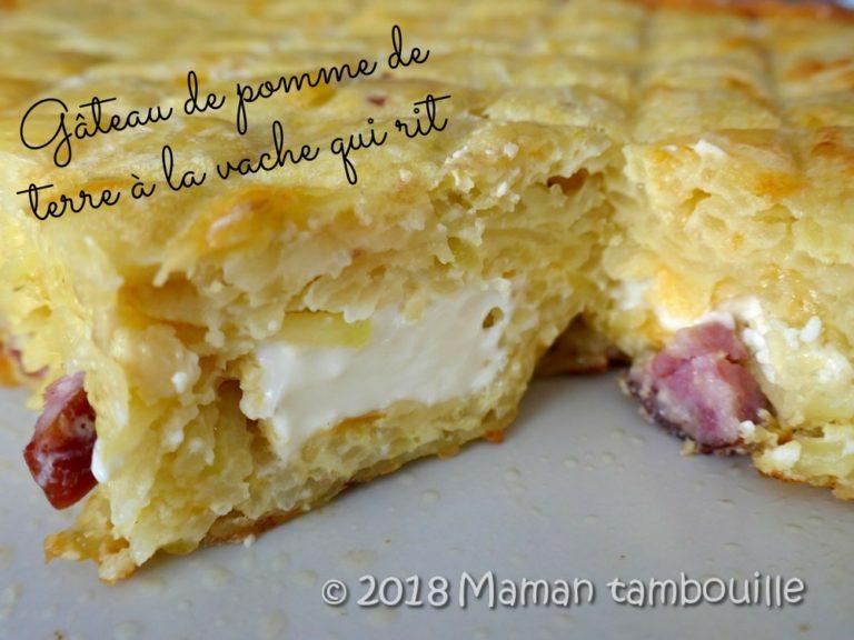 Read more about the article Gâteau de pomme de terre à la vache qui rit