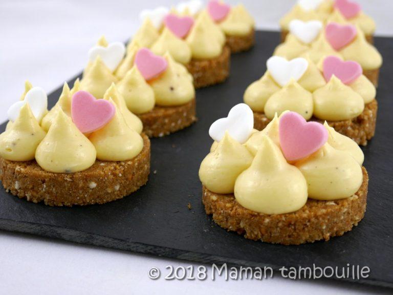 Read more about the article Tartelette sarrasin, crémeux citron et poivre de timut