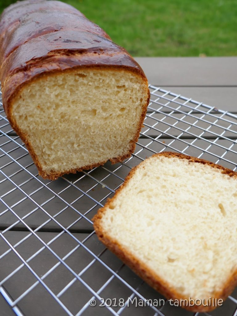 Read more about the article Brioche aux blancs d'oeuf