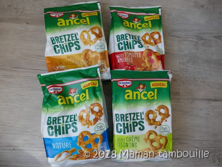 Concours les nouveaux Bretzel'Chips Dr Oetker {partenariat}