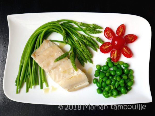 Filet de haddock et ses légumes printaniers