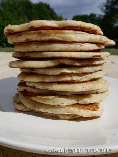 Pancakes américains extra moelleux