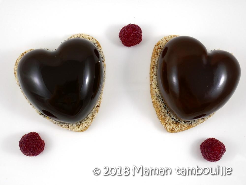Coeurs chocolat
