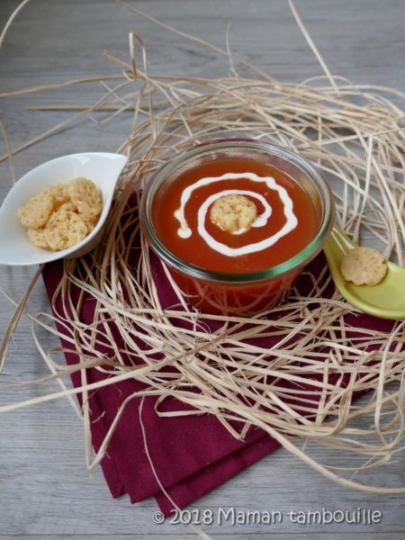 Soupe de tomate {Cookeo}