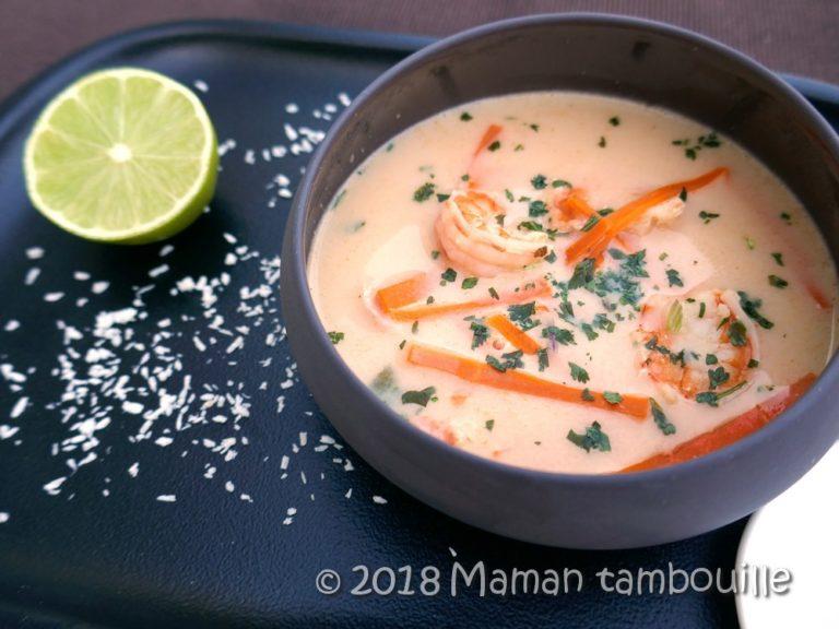 Read more about the article Soupe thaï aux crevettes