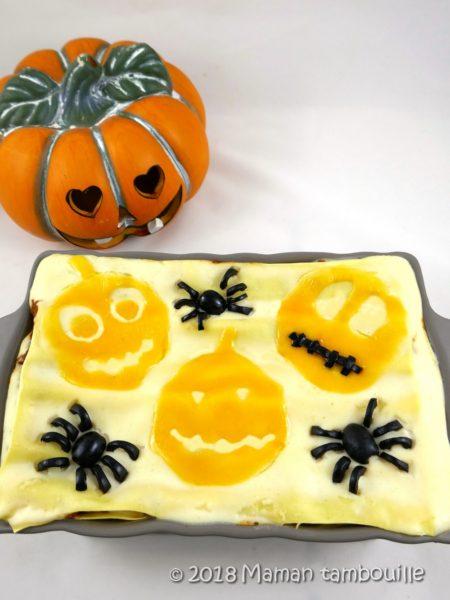 Lasagnes d'Halloween