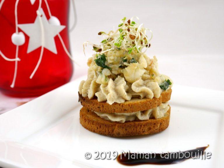 Read more about the article Crème d'artichaut aux langoustines et crevettes