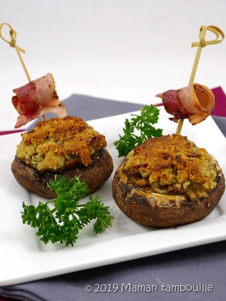 Read more about the article Champignons farcis au roquefort