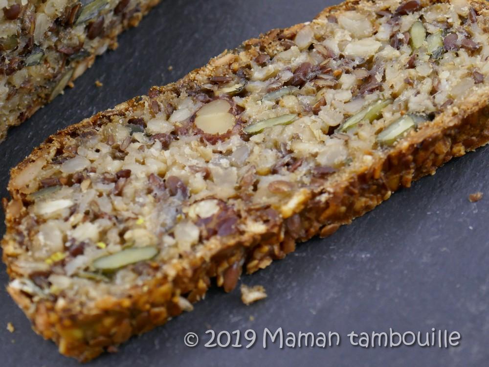 Read more about the article Pain aux graines sans farine {sans gluten}