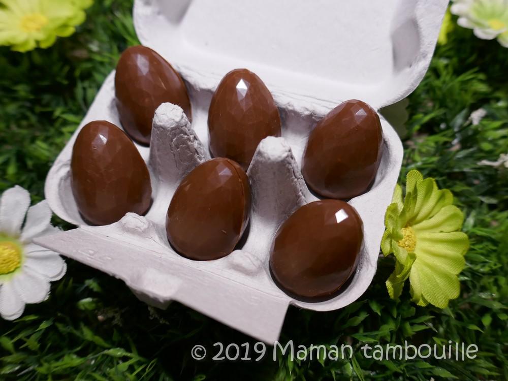 Minis oeufs au chocolat