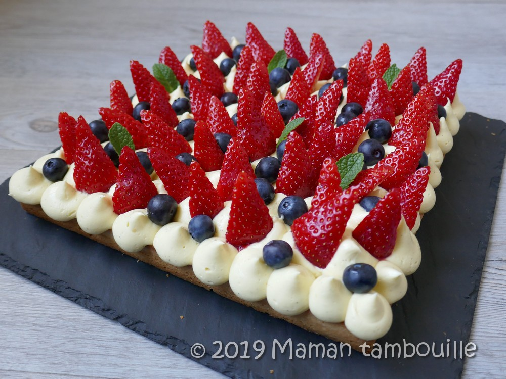 Le gourmand aux fruits rouges