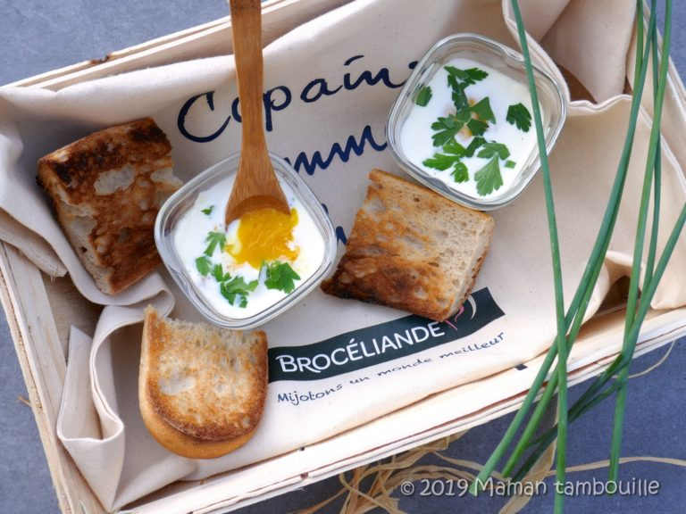 Oeuf cocotte forestier