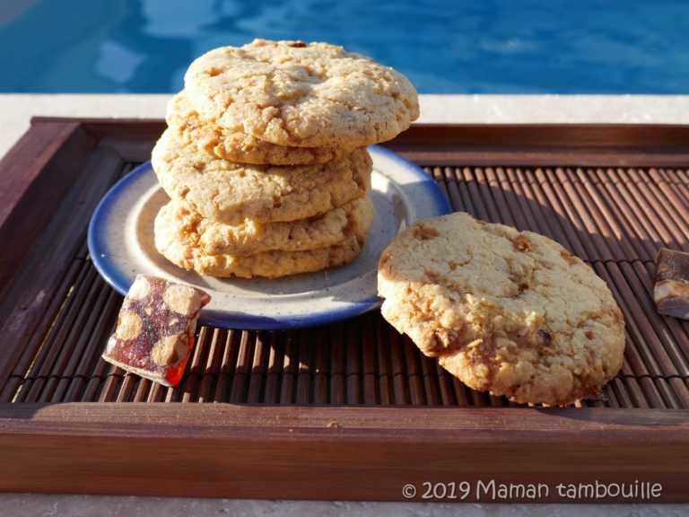 Read more about the article Cookies au nougat