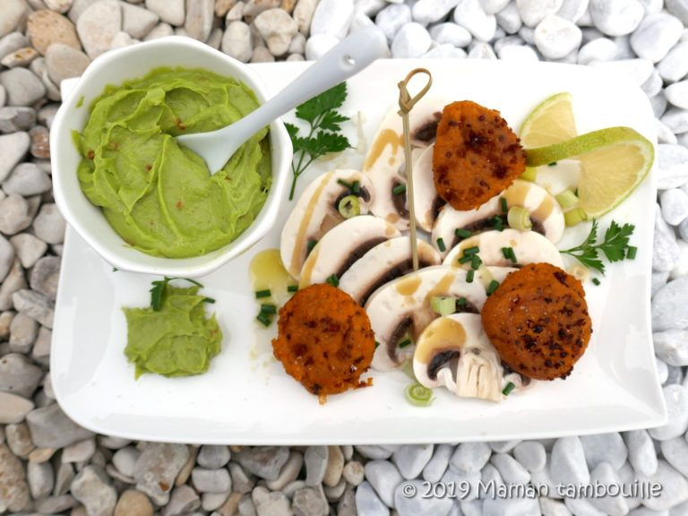Read more about the article Croquettes de patate douce