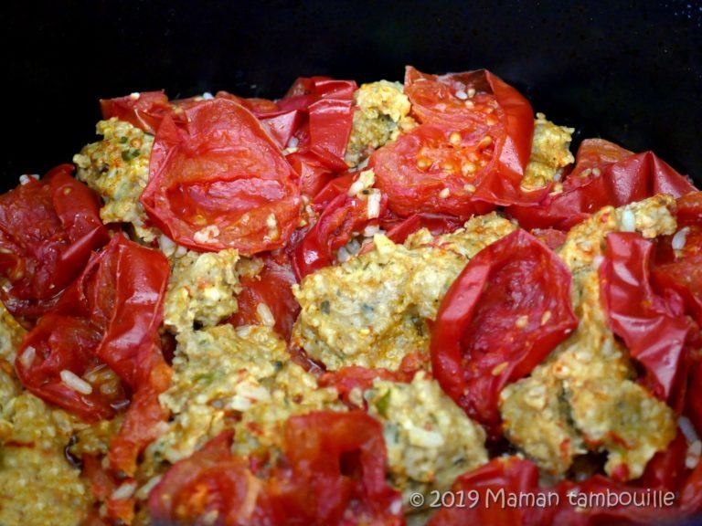 Les tomates farcies des paresseux {cookeo}
