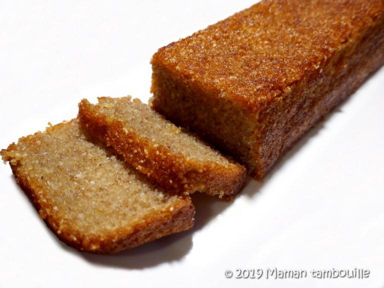 Kasha cake au miel