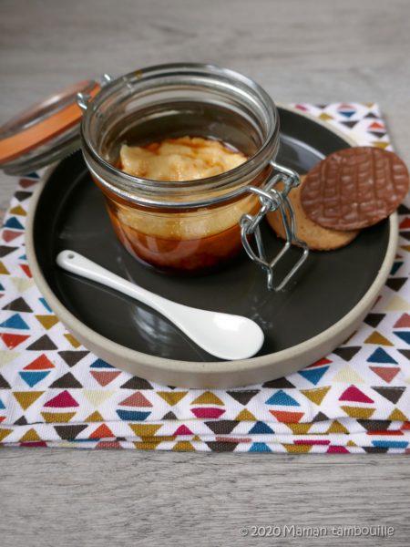 Crème de floraline au caramel