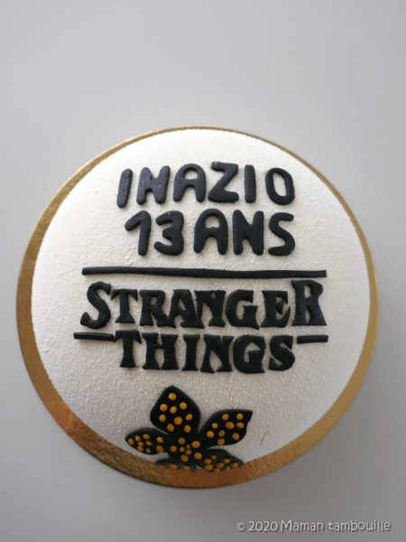 Entremets fruits rouges vanille {Stranger Things}