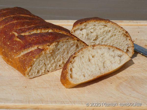 3 jours de pain maison en 5 min