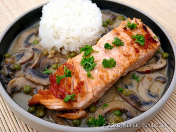 Saumon bouillon thaï de Cyril Lignac