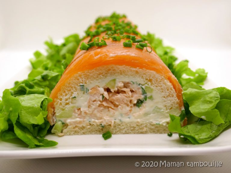 Read more about the article Bûche aux 2 saumons