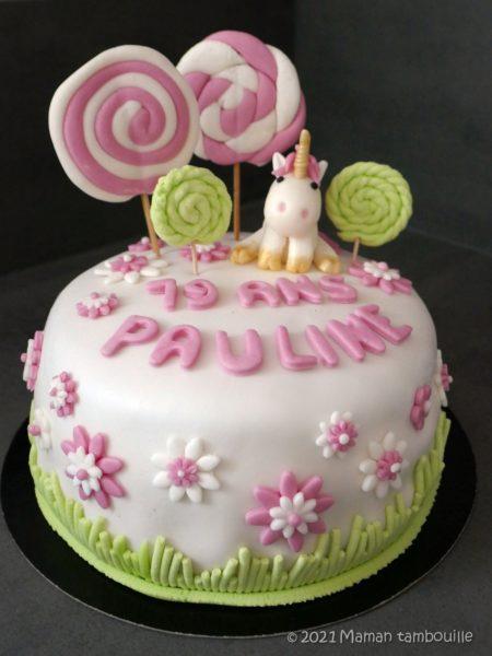 Layer cake aux framboises