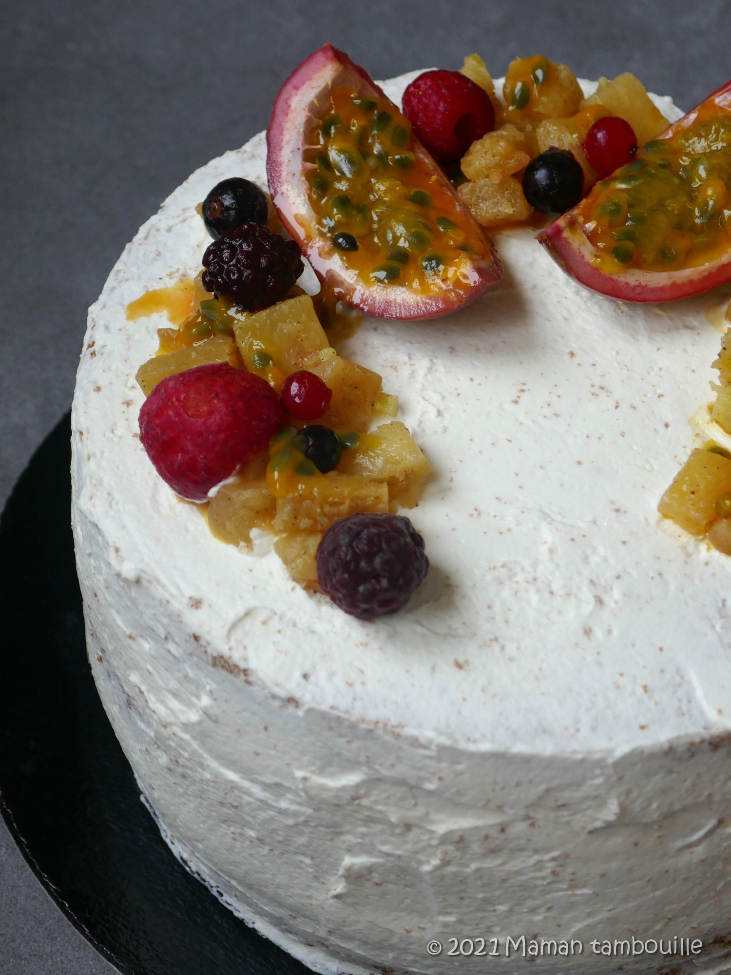 Read more about the article Naked cake à l'ananas