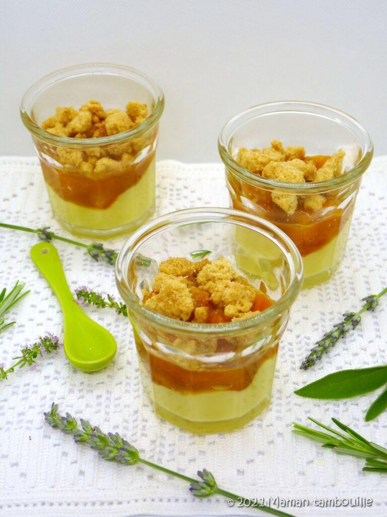 Read more about the article Crème timut, abricots au miel, streusel