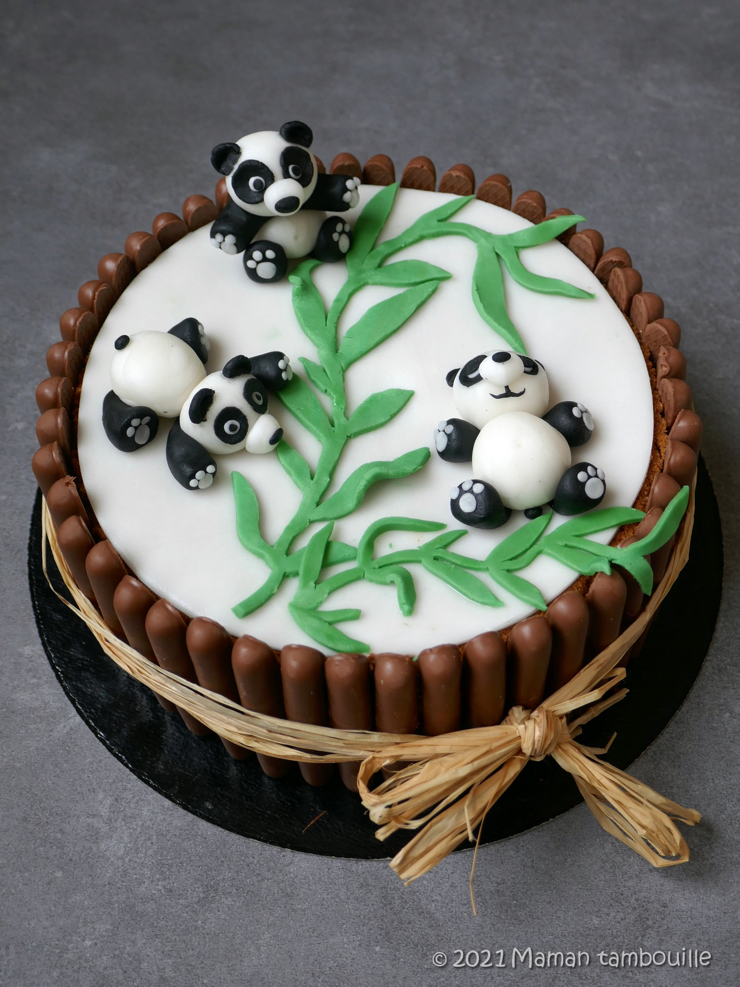 You are currently viewing Gâteau panda