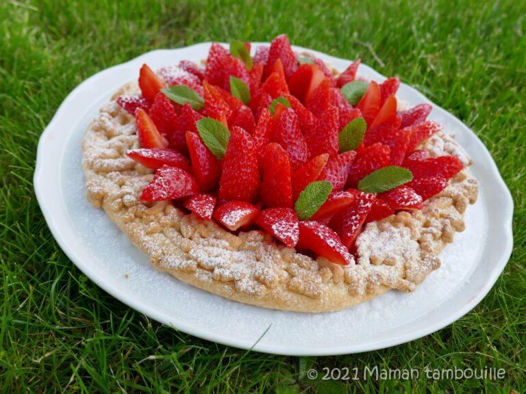 Read more about the article Tarte rustique aux fraises